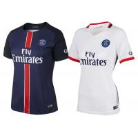 Wholesale PSG Ladies Soccer Jersey Paris Saint - Germain Home White Shirts from china suppliers
