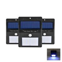 Wholesale High Brightness IP65 Waterproof Outdoor Motion Sensor Light Solar Garden Light from china suppliers