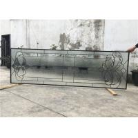 Wholesale Black Patina Sliding Glass DoorDouble Glazed Telescopic Tempered Glass from china suppliers