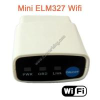 Wholesale Mini ELM327 OBD2 Code Reader Wifi ELM327 OBD2 OBDii CAN-BUS Diagnostic Tool for ios from china suppliers