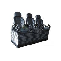 Wholesale Luxury black 3 seats / set Movie Theater Chairs By pneumatic / hydraulic Control from china suppliers