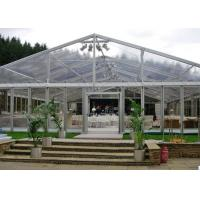 Wholesale Windproof Wedding Marquee Luxury Party Tents / Clear Span Tent from china suppliers