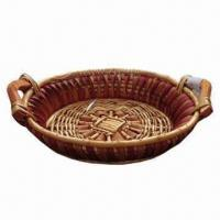 Wholesale 100% Handmade Bread Basket, Environment-friendly from china suppliers