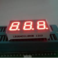Wholesale Triple Digit 7 Segment LED Digital Display For Instrument Panel Indicator 0.40 inch from china suppliers