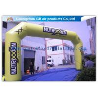 Wholesale Outdoor Advertising Custom Inflatable Arch 0.45mm Pvc Tarpaulin , 8mL * 5mH from china suppliers