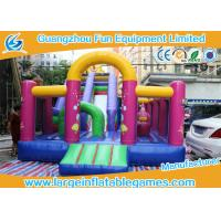 Wholesale 7*4*5 M Inflatable Jumping House Customized size / color  With Slide for children from china suppliers