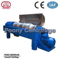 Wholesale PLW Petroleum Chemical Control Drilling Mud Centrifuge with Tiled Conveyor from china suppliers