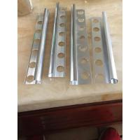 Wholesale 6063  T5 Chorme Aluminum section, aluminum tile trim from china suppliers