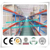 Wholesale Adjustable Cold Formed Steel Sections , Medium Duty Pallet Rack System from china suppliers
