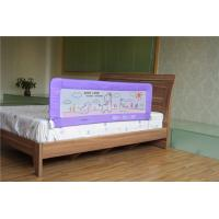 Wholesale Purple Metal Safety Baby Bed Rail Folding For Prevent Kids Dropping Down from china suppliers