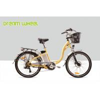 Wholesale 36V 250W Electric City Bike 26 Inch Wheel Urban Commuter Bicycle Aluminum Frame from china suppliers