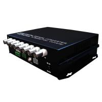 Wholesale 8-channel Digital Video Optical Converter, video optical multiplexer+data, PAL/NTSC/SECAM from china suppliers
