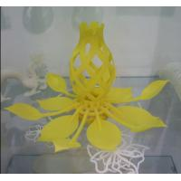 Wholesale Professional Yellow Lotus Flower 3D Model Printing Service ABS Rapid Prototyping from china suppliers