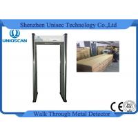 Wholesale CE/ISO certificated walk through metal detector with 6 independent zones LED screen from china suppliers