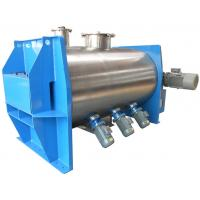 Wholesale High loading coefficient Horizontal Coulter Mixer / Lab mixing equipment from china suppliers