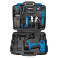 Buy cheap DIY Rechargeable Cordless Drill Sets with Screwdriver / Ratchet Wrench / Drill Bits from wholesalers