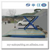 Wholesale Hydraulic Scissor Lift Table for Car Storage Scissor Lift 220v from china suppliers