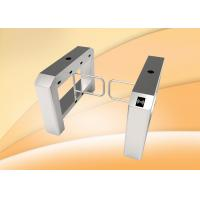 Wholesale single lane swing barrier turnstile with access control panel from china suppliers