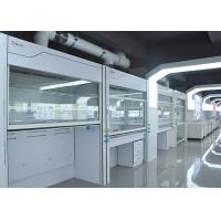 Wholesale Stainless Steel Walk In Fume Hood Laboratory Furniture Type Exhuast Air R 1500-3000m³/h from china suppliers