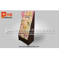 Wholesale UV Vanishing Courrugated Book / Greeting Cards Display With Brand Propaganda from china suppliers