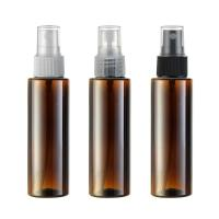 Wholesale 100ML Plastic Perfume PET Bottle Color Coating With Plastic Fine Mist Sprayer 24/410 from china suppliers