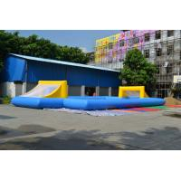 Wholesale Commercial 0.55mm PVC Tarpaulin Football Field Inflatable Sports Games from china suppliers