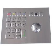 Wholesale IP65 304 stainless steel  trackball pointing device mouse USB interface from china suppliers