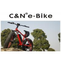 Wholesale DNM Front Fork Electric Fat Tire Snow Bike With Electric Motor 4 - 6 Hours Charging Time from china suppliers
