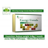 Wholesale High Nutritional Value Meal Replacement Cereal , Weight Loss Milkshakes Solid Powder from china suppliers