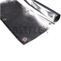 Quality Aluminized Fiberglass Sleeve with Snaps for sale