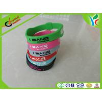 Wholesale Modern Silicone Balance Bracelet , Comfortable Custom Silicone Wristbands from china suppliers