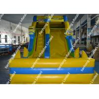 Wholesale Family Market Inflatable Water Slide Yellow With Holiday Decorations from china suppliers