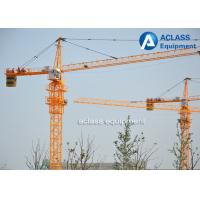 Wholesale High Rise Fixed Hammerhead Tower Crane , External Climbing Travelling Tower Crane from china suppliers