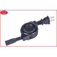 Wholesale Custom 2 pins to Figure 8 Plug Rice Cooker Retractable Cord USA Standard from china suppliers