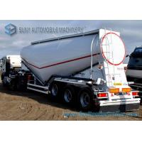 Wholesale 3 Axle 40 m3 Dry Bulk Tanker V Shape Lifting Cement Tank Container from china suppliers