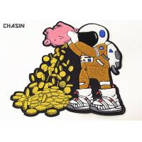 Wholesale Custom Iron On Chenille Back Patch NASA Astronaut Logo 6.5 Tall from china suppliers