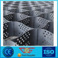 Wholesale Slope Stabilisation Mesh / Geocell For Retaining Wall 1.1mm - 1.8mm Thickness from china suppliers