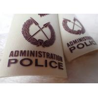 Wholesale High Density Screen Printed Clothing Labels Police Shoulder Patches from china suppliers