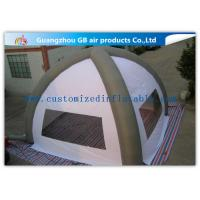 Wholesale White 8m Classic Inflatable Air Tent Spider Dome Inflatable Tent With Air Columns for Events from china suppliers
