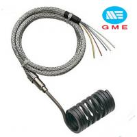 Quality PVC Extruder Hot Runner Coil Heaters Spring Coil Heater With Metal Mesh Lead Wire for sale