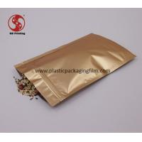 Wholesale Customized Water Proof Stand Up Aluminum Foil Bags For Tea / Spice / Snack from china suppliers