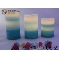 Quality 3 Layer Color Warm White Led Candles Flameless For  Home / Hotel for sale