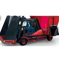 Wholesale Automatic Tractor Feed Mixer , Tractor Pulling And Loading Feed Cart With Auger from china suppliers