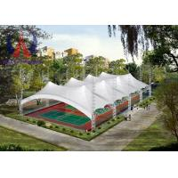 Quality LightWeight Steel Roof Tensile Structure Architecture Shade Covers For Playgrounds for sale