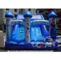 Wholesale Frozen Commercial Inflatable Water Slides / Double Lane Water Slide 0.55 PVC from china suppliers