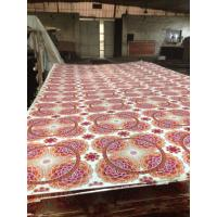 Wholesale Popular plywood  Brilliant Flower Design Paper Laminated/Overlaid Plywood   from china suppliers