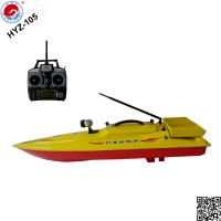 Stable performance fishing remote boat hyz 105 rc bait for Fish catching rc boat