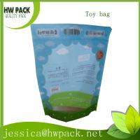 Wholesale stand up zipper bag for children toy from china suppliers