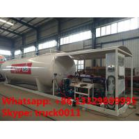 Wholesale 30m3 15tons skid lpg gas station with lpg gas dispenser for sale, Wholesale bottom price 30,000L skid lpg gas plant from china suppliers