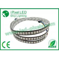 Wholesale 60 Ws2812B LED Strip DC5V Consumption Cutable Addressable LED Strip from china suppliers